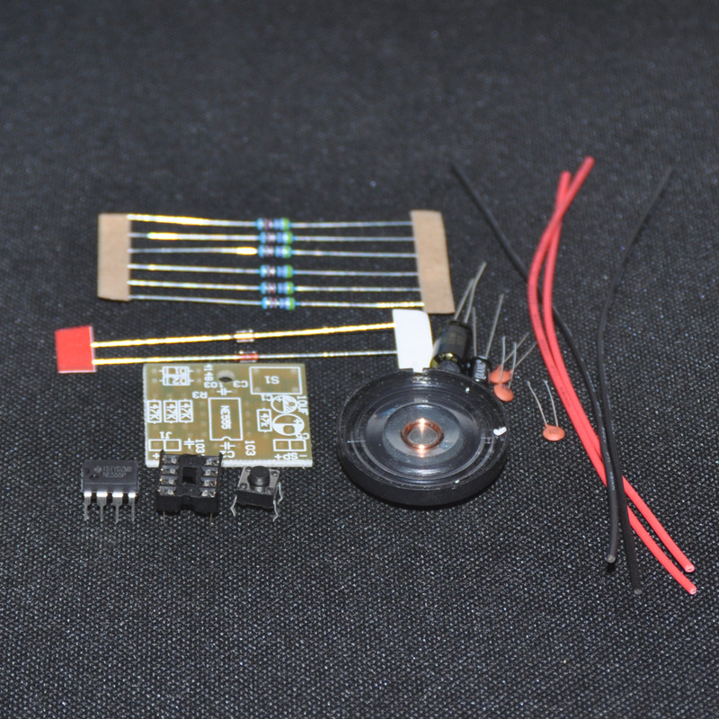 Buzzer Circuit Piezo Electric Buzzer Explained Homemade Circuit