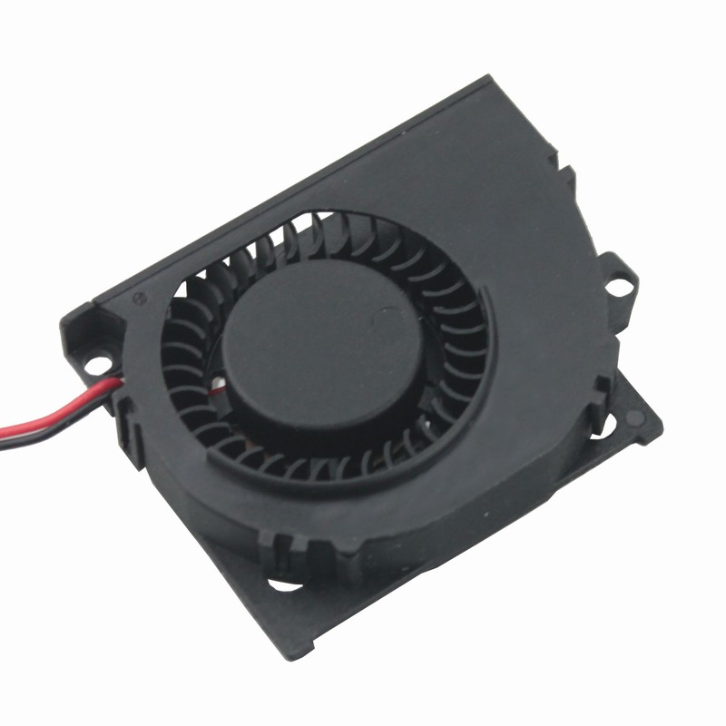 2 Pieces Gdstime DC Brushless Cooling Fan 5V 50x10mm Blower Cooler 50mm x 40mm x 10mm Exhaust Cooling Fan 5cm 5010s 2 pcs gdstime tow ball bearing 48v 170mm x 50mm circle cooler metal case industrial dc cooling fan 172mm x 51mm 2pin 17cm 17251