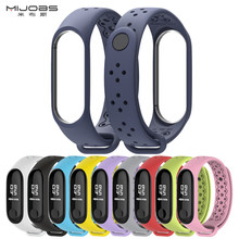 Mi Band 3 Strap Bracelet wrist strap watch mi band3 accessories smart bracelet sport Silicone miband 3 for Xiaomi mi band 3