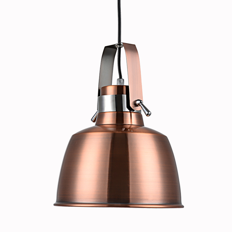 American industrial style red copper exhibition pendant light Nordic creative restaurant bar metal pendant lamp AP8211748 pendant light living room lamps restaurant lamp american style copper brief pendant light