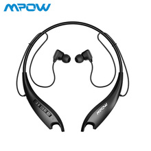 Mpow Jaws Gen 5th Bluetooth 5.0 Neckband Headphones 18h Playing Time Magnetic Earbuds Buil