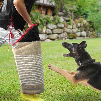สุนัขอุปกรณ์การฝึกอบรม Bite แขน Tugs แผ่น Interactive สัตว์เลี้ยงสุนัขของเล่นสำหรับหนุ่มสุนัข K9 ทำงานสุนัข Malinois เยอรมัน