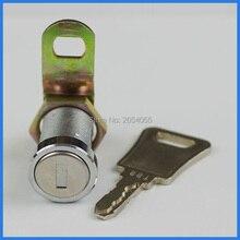 5 шт. 27 мм водонепроницаемый пылезащитный трубчатый cam lock настенный шкаф замок с одни и те же ключи