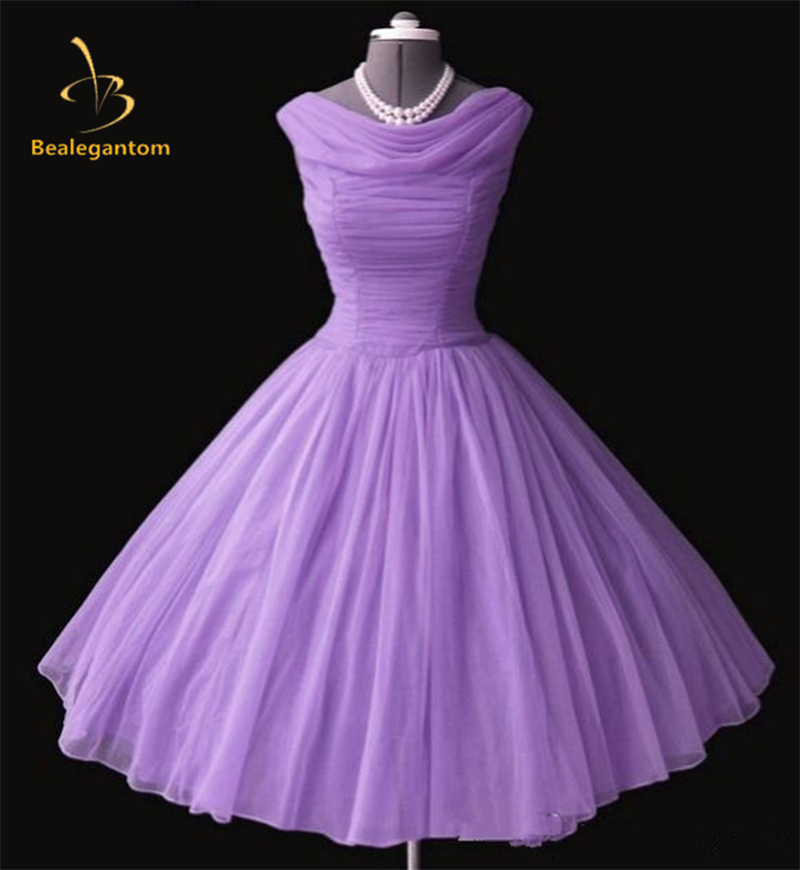 New Elegent In Stock Light Purple Organza Cheap   Prom     Dresses   2018 Cocktail Party Gowns Size 2 4 6 8 10 12 14 16 QA991