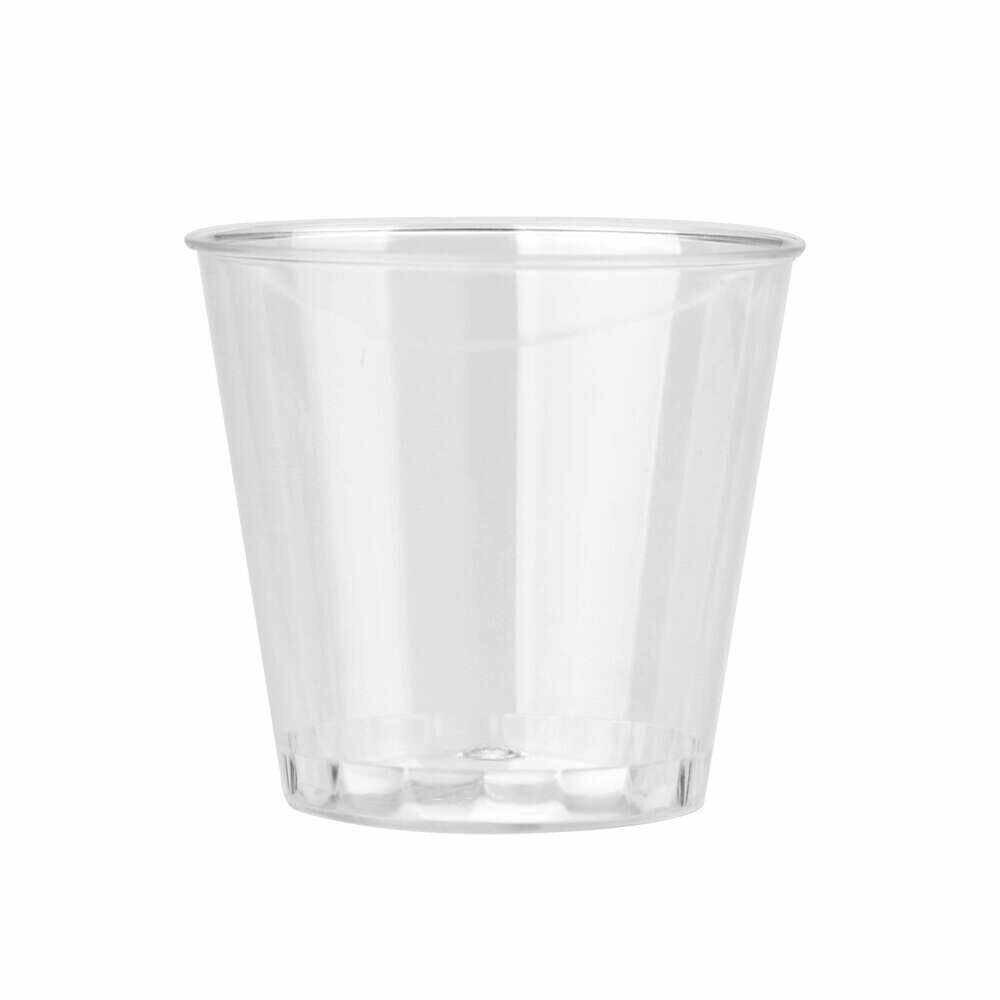 Klar Kunststoff Einweg Party Schuss Gläser Gelee Tassen Becher Geburtstag kreative kichen werkzeuge accessoire küche gadgets hause