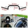 """ZJMOTO Envío gratis Supermoto Motocicleta Negro 7/8 """"Bares manillar PARA Harley Clubman ACE Chopper Cafe Racer Clubman"""
