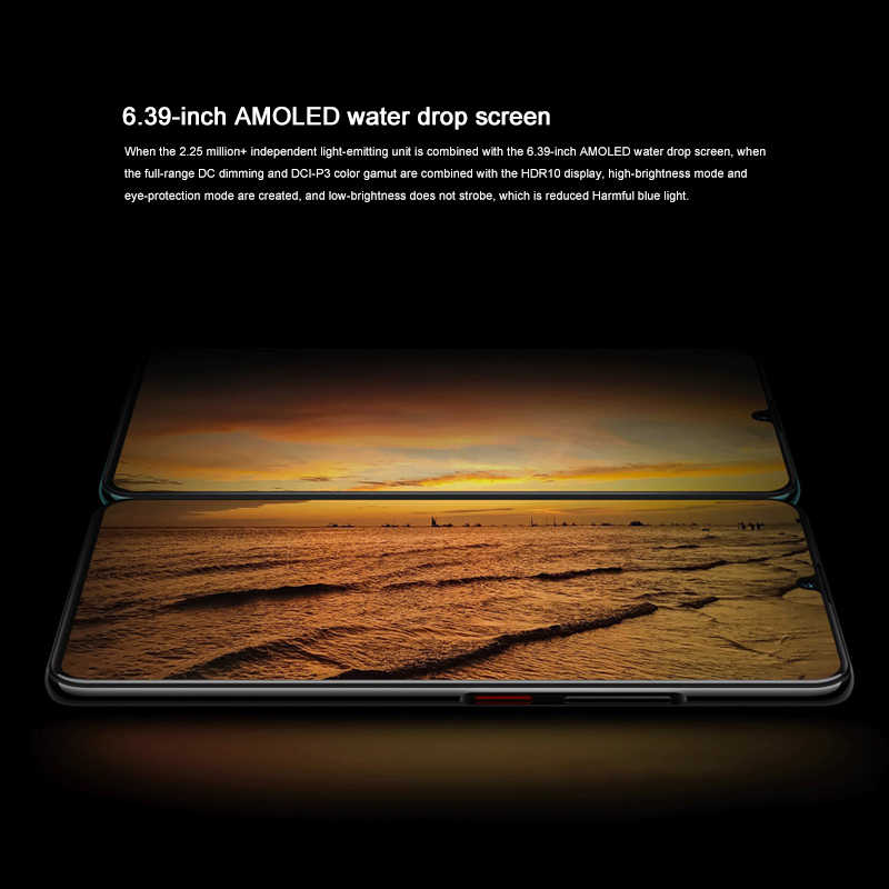 Global ROM Lenovo Z6 Pro Water drop screen liquid cooling heat dissipation HYPER VIDEO Four rear camera 48.0MP Snapdragon 855