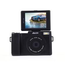 Best price Amkov Digital Camera AMK-CDR2 24 Megapixel 1080P HD Shooting 4 Times Digital Zoom Beauty Self-timer Camera Mini Digital Camera