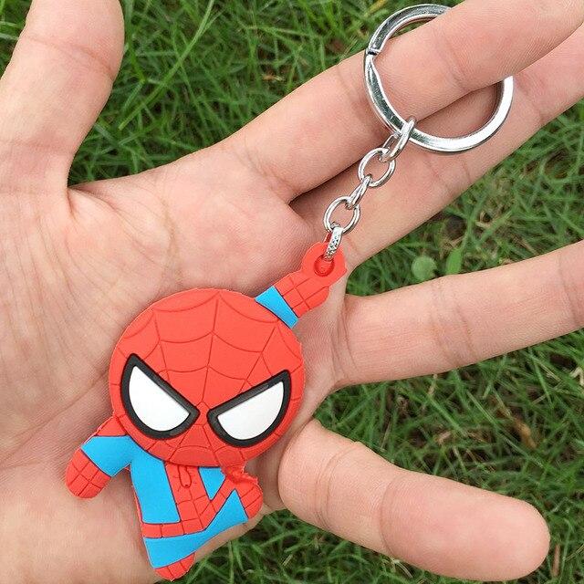 Шнурок с карабином и брелком Человек паук 2