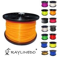 Color in Orange 1Kilo/2.2Lb Quality PLA 3.00mm 3D Printer Filament 3D Printing Pen Materials
