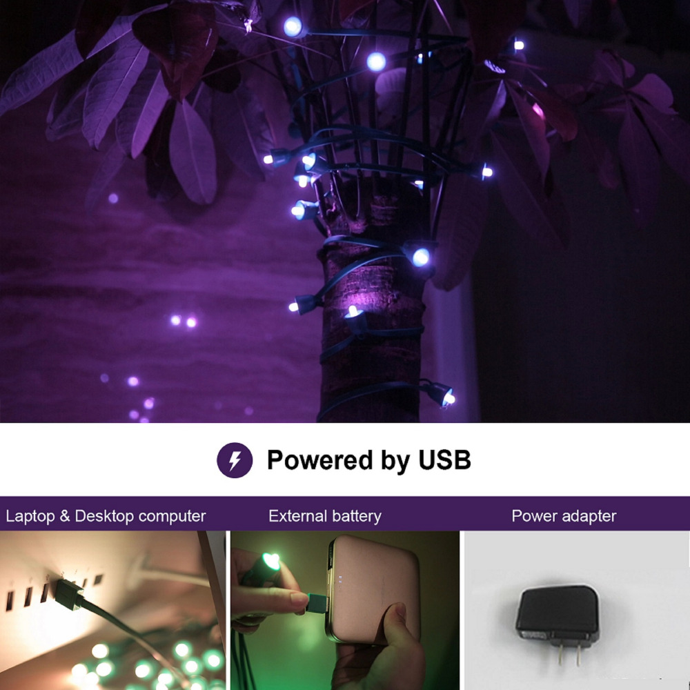 huge discount ea300 3430e US $34.99 30% OFF|MIPOW PLAYBULB 10m Smart Christmas LED String Outdoor  Xmas Decorations Party Lighting Colorful Lights Fairy Rope Light-in Smart  ...