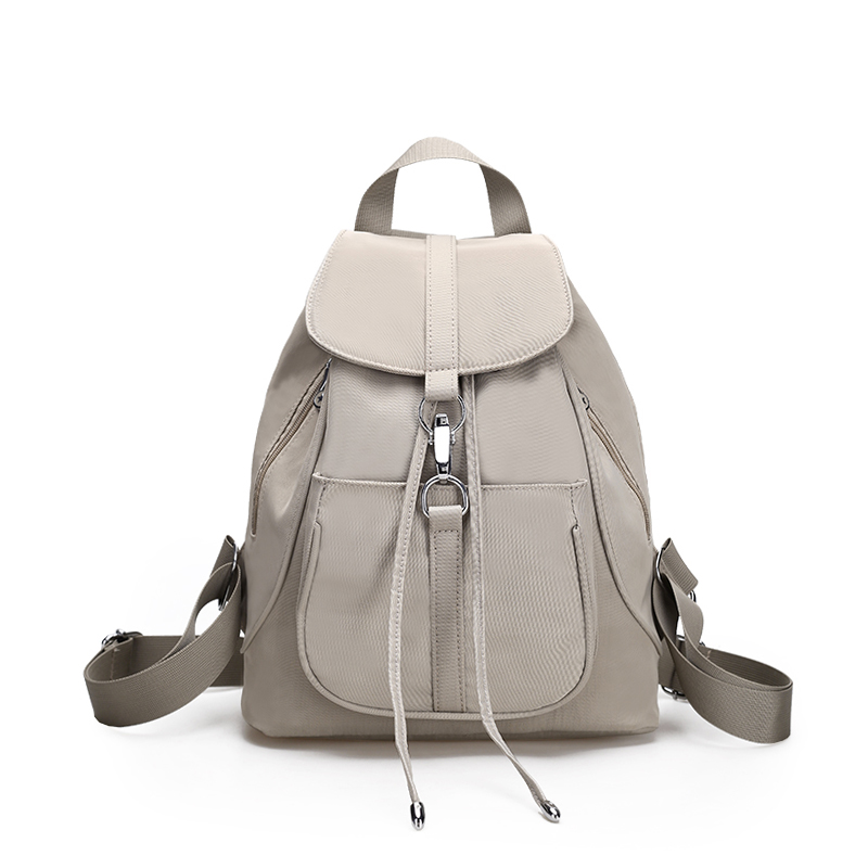 a2193977d90d Sky fantasy nylon solid Korean and Japan preppy style youth fashion classic  cute girls small vogue fresh plain popular backpacks-in School Bags from  Luggage ...