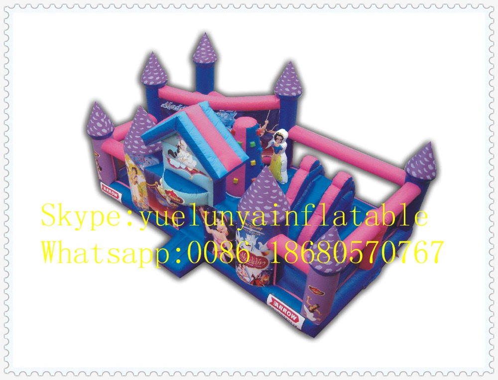 Factory direct Inflatable slide,Inflatable castle,Princess Castle Trampoline KYB-34 factory direct inflatable trampoline inflatable castle inflatable slide obstacle yly 0177