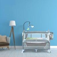 Многофункциональный Складная Кроватка для младенца Портативный путешествия детские кроватки крутые детские Манеж Cradel на 2019