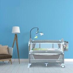 Multi-funcional dobrável cama de bebê portátil viagem berço do bebê fresco bebê cercadinho cradel em 2019