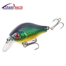 CRANK BAITS brand hard lures Crank Bait Fishing Lure 55mm 13g fishing kits hot sale bait for smart lure Hooks  YB76