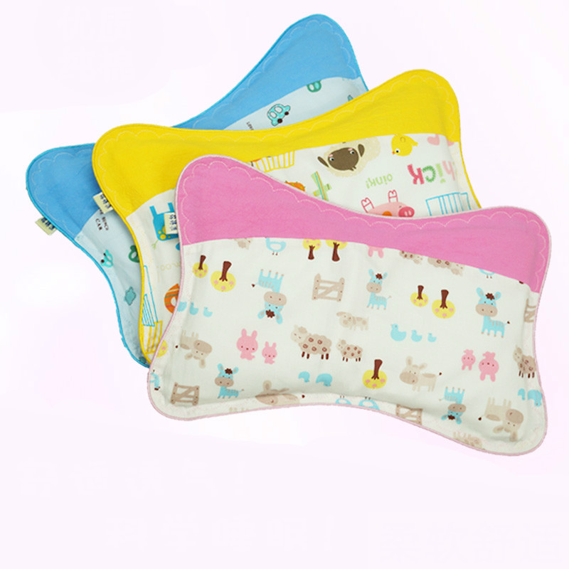 Free Shipping Soft Cute Newborn Baby Buckwheat Pillow Suitable For 0-3 Years Old T01 цены