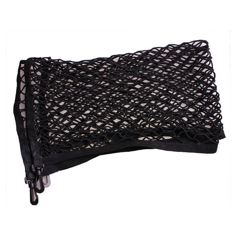 Image 3 - Adjustable 70*110 CM Universal Car Trunk Luggage Storage Cargo Net   Universal Stretchable Truck Net with 4 Hooks-in Nets from Automobiles & Motorcycles