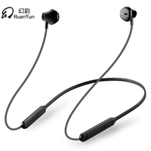 Consumer Electronics - Portable Audio  - Huan Yun Bluetooth Earphone Wireless Neckband Sport Magnetic Double Battery Bluetooth Headphone Headset Stereo Bass With Mic