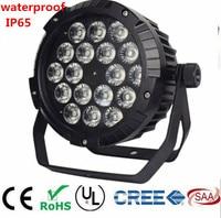 18x18W RGBWA UV 6IN1 18X12W IP65 waterproof led Par Lights, RGBW 4in1 LED PAR DMX control stage DJ equipment disco lights