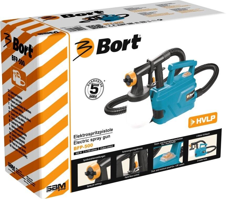 Paint spray gun Bort BFP-500