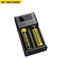 I2 Nitecore Nova Intelli Carregador Universal Li ion Carregador de Bateria para Ni MH AA AAA 26650 18650 16340 14500 Carregamento de Baterias|Acessórios portáteis de iluminação| |  -