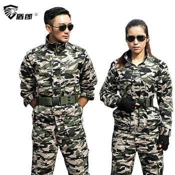 軍服迷彩 Colete Tatico セット戦闘ジャケット貨物パンツ制服 Militar 男性の戦術作業軍スーツ女性 - DISCOUNT ITEM  46% OFF ノベルティ & 特殊用途