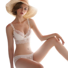 Krastmoon Transparent Romantic Temptation Lace Bra Set