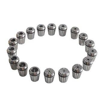 Er32 Spannzangensatz | 18 Stücke ER32 Spindel Collet Hohe Präzision Collet Set Für CNC Gravur Maschine Drehmaschine Mühle Werkzeug