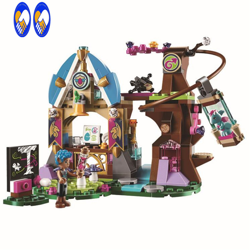 (A Toy A Dream)Elves Azari The Magical Bakery House elves  Building Blocks Figures Friends Girls Princess Fairy Toys hot nuevo 10415 elfos azari aira naida emily jones cielo fortaleza castillo building block toys