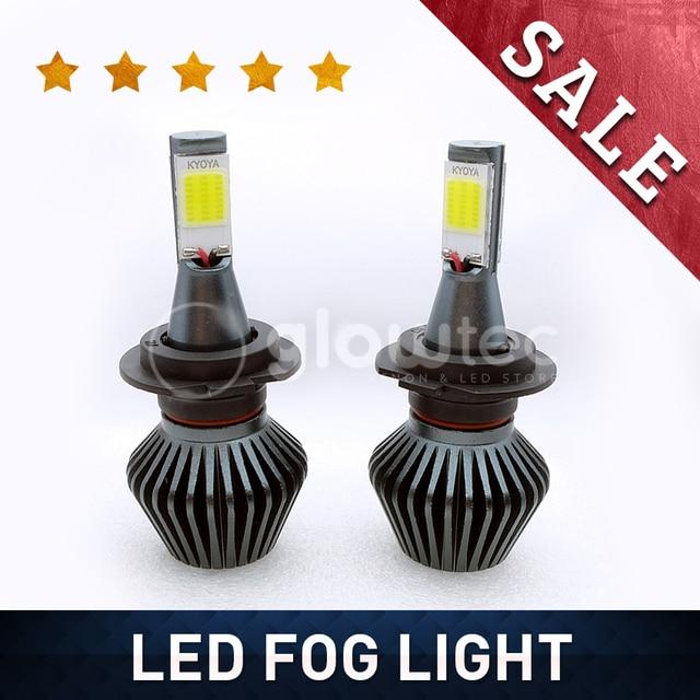Us 10 99 Wholesale Led Foglight Chip Super Vision H1 H3 H4 H7 H8 H11 6000k 3000k Top Sale Led Bulb Car Bulb Glowtec In Car Headlight