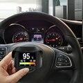 A202 Многофункциональный Автомобиль OBD Смарт-Цифровой метр + Сигнализация код Неисправности температура Воды манометр цифровой измеритель скорости дисплей