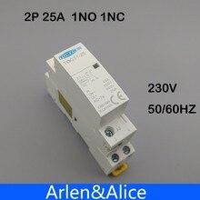 Din-рейку контактор нормально закрытый гц бытовой один ac p открытый и