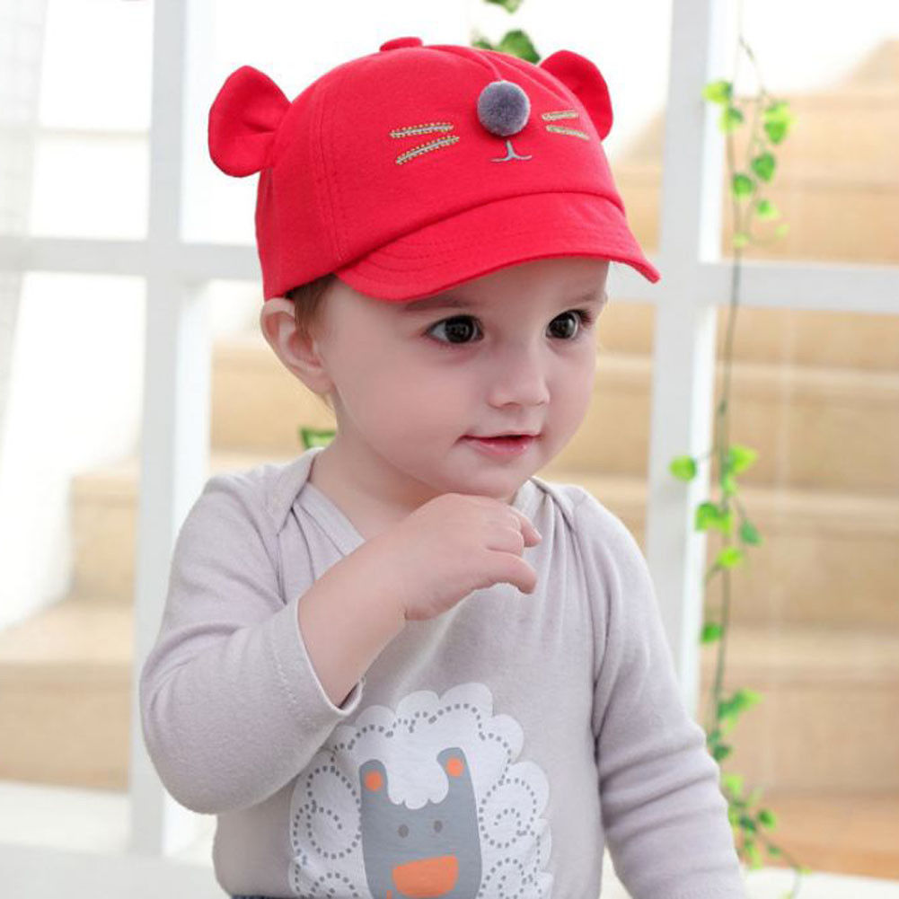 27e4dddc Newest Baby Boys Girls Baby Baseball Lovely Casual Beret Kids Cap Children  Toddler Infant Hat Peaked