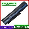 4400 mah batería del ordenador portátil para acer um08b71 um08b72 um08b73 um08b74 para aspire one a110 a150 d150 d250 p531h pro 531 h series