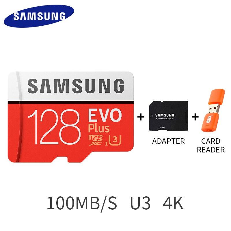 Original SAMSUNG Micro SD card 64GB 32GB Class 10 Memory Card EVO+ EVO Plus microSD 128GB 256GB TF Card SDXC cartao de memoria