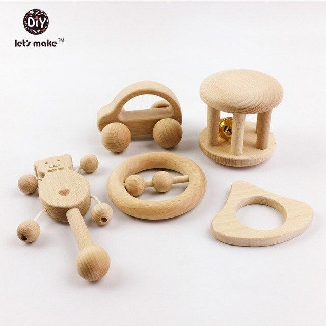 Vamos a hacer puzle juguetes niños intelectual Montessori juegos de juguetes de enfermería sonajeros de madera bebé divertido e interesante juguetes de bebé