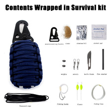 The electricity supplier  Amazon hot outdoor sports tactical package EDC multifunctional first-aid kit survival medical kit