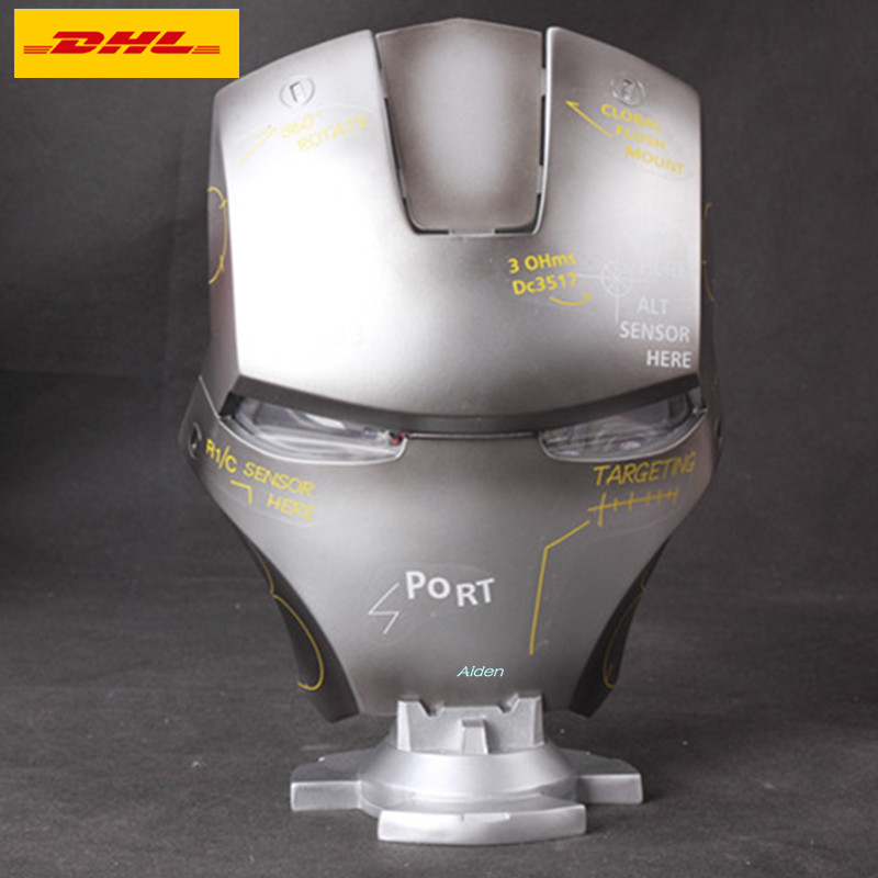 Tireless 12 Avengers Infinity War Helmet Superhero Iron Man Tony Stark Mask With Led Light Gk Action Figure Toy Box 30cm B624 Clear And Distinctive Back To Search Resultstoys & Hobbies