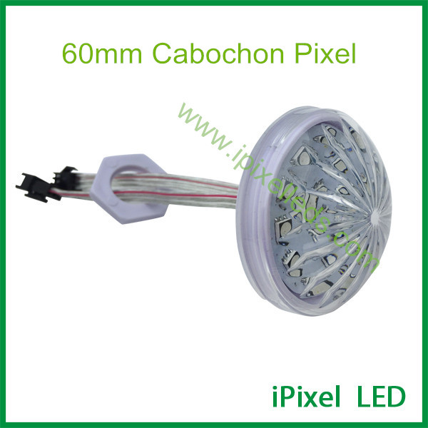 18leds 60mm pixel led universal cabochon led for ferris wheel