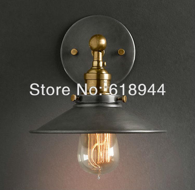 2017 NOVINKA vinobraní nástěnné lampy americký styl edison žárovky v obývacím pokoji nástěnné lampy 110V 220V luminaria nástěnné světlo podkroví nástěnné lampy