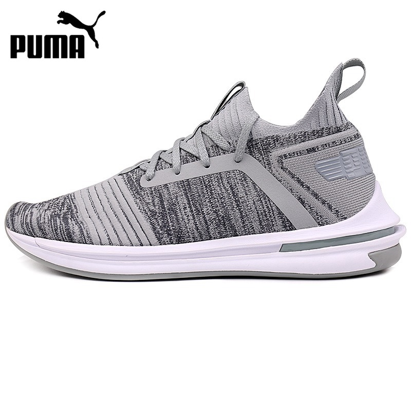 61231b25cf91c3 Original New Arrival 2018 PUMA IGNITE Limitless SR evoKNIT Men s Running  Shoes Sneakers