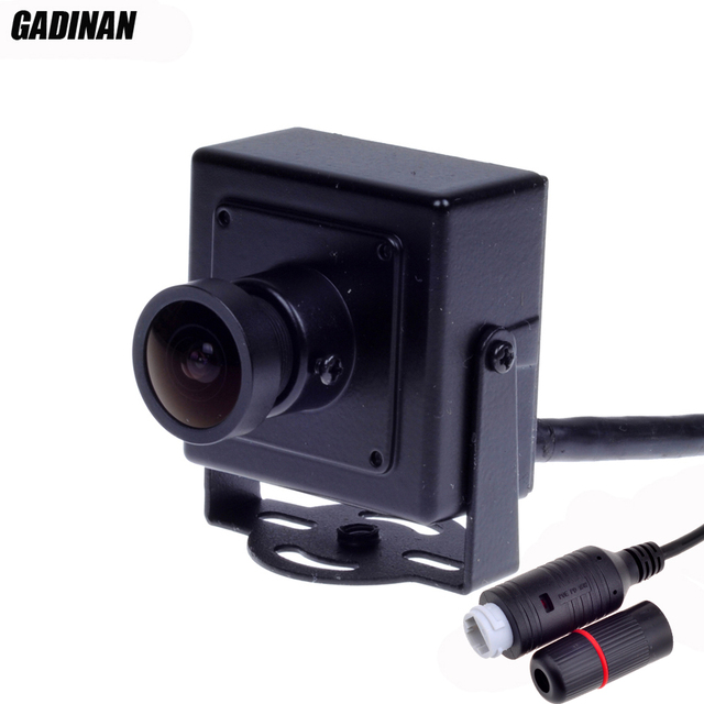1.0MP 720 P (1.3 MP 960 P) 2.1mm lente Grande Angular H.264 Indoor Securiy Rede P2P ONVIF POE Mini IP CCTV Câmera Metal Habitação