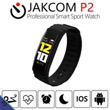 JAKCOM P2 Inteligente Profissional Relógio Do Esporte como Pulseiras em banda inteligente ip68 vivo makibes hr3