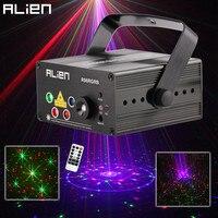 New 5 Lens 80 Patterns RG RB Laser Projector Stage Lighting Effect Blue LED DJ Disco