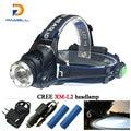 powerful CREE XML T6 XM-L L2 led headlamp LED headlight  18650 Rechargeable Battery waterproof head lamp Fishing Camping Hunting