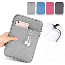 9-10Universal Cotton Fabric Tablet Sleeve Pouch Bag Cover Case for iPad Pro 10.5 Air 2 Huawei T3 T2 10 lenovo yoga