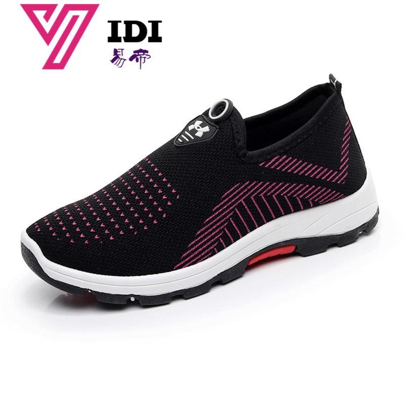 Women's Sneakers Flats Athletic Mesh Breathable Platform Sport Casual Shoes WL