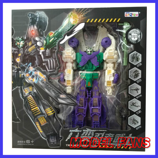 цена на MODEL FANS IN-STOCK TF Transformation robot KO MMC SIXSHOT 31 cm height Anime version
