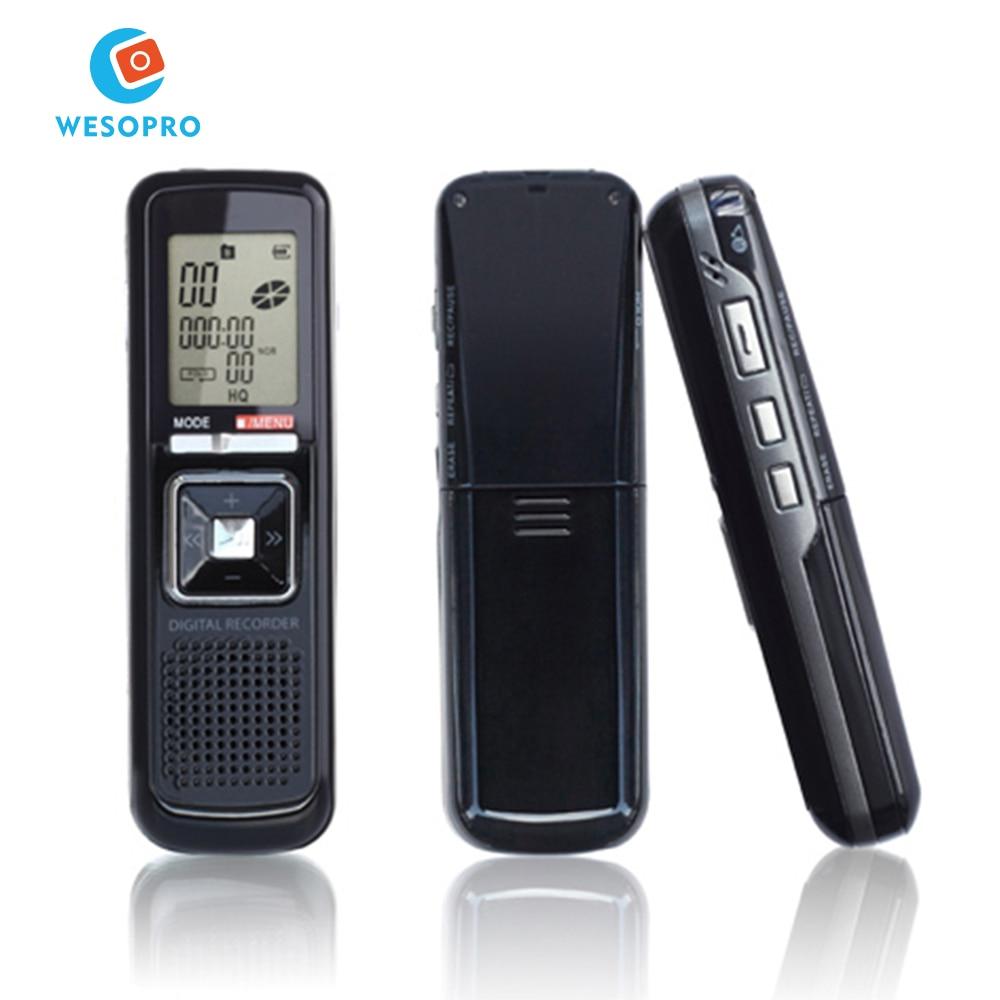 Die Hohe Empfindliche Vox Digital Voice Recorder Versteckte Aufnahme Geräte Mit Flash-speicher Tragbares Audio & Video